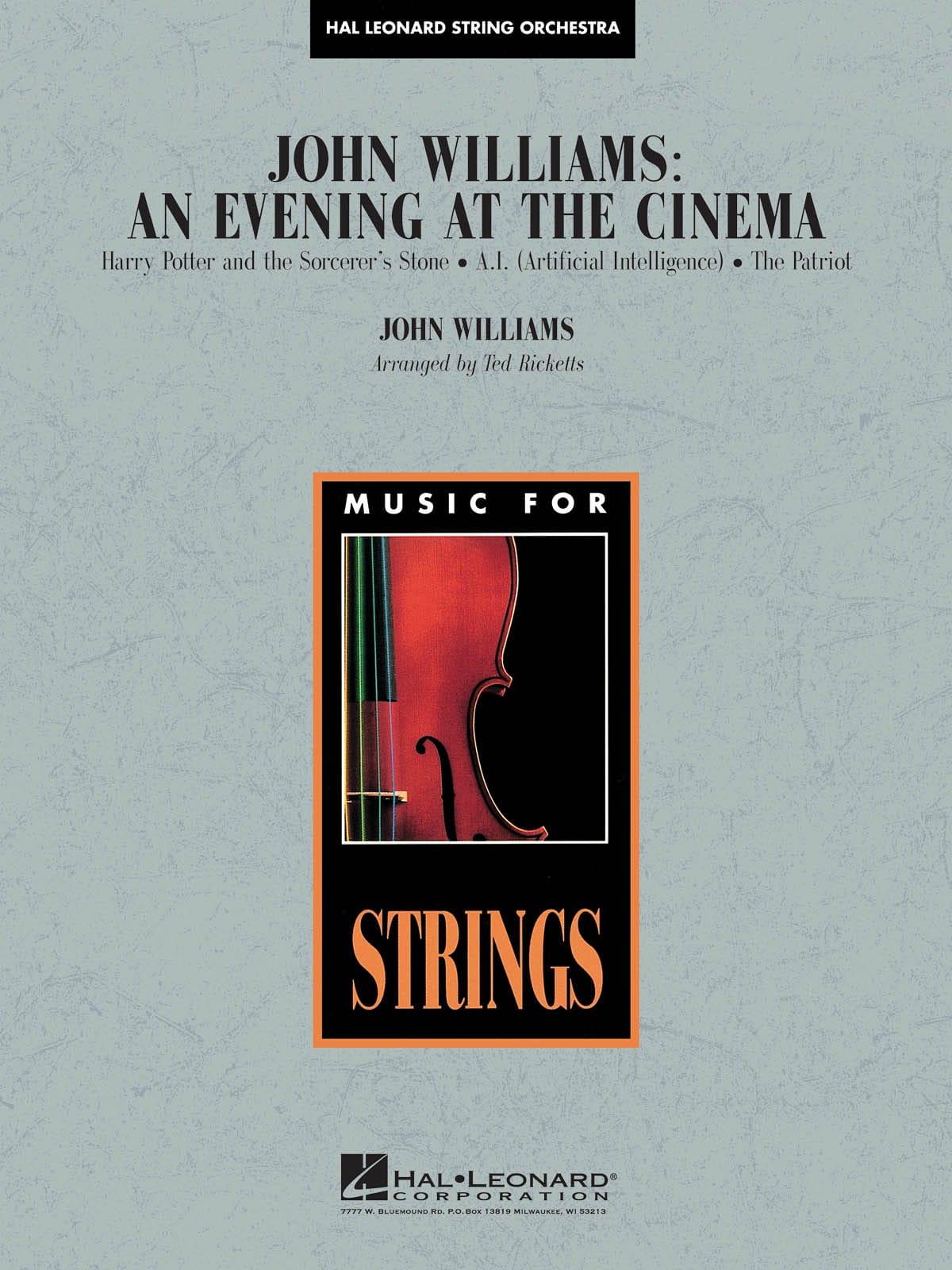 John Williams - An Evening at the Cinema - Pop Specials for Strings - laflutedepan.com