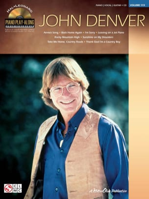 Piano Play-Along Volume 115 - John Denver John Denver laflutedepan
