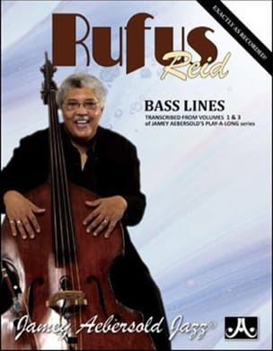 METHODE AEBERSOLD - Rufus Reid Bass Lines - Partition - di-arezzo.fr