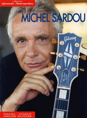 Collection Grands Interprètes Michel Sardou Partition laflutedepan