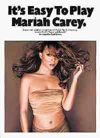 It's easy to play Mariah Carey Mariah Carey Partition laflutedepan
