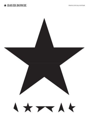 Blackstar David Bowie Partition Pop / Rock - laflutedepan