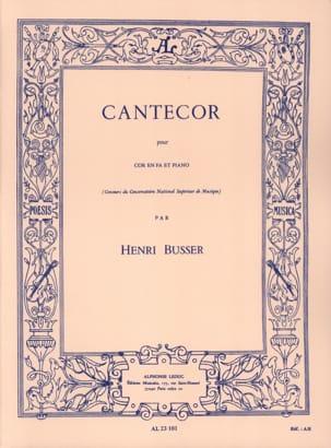 Cantecor Henri Busser Partition Cor - laflutedepan