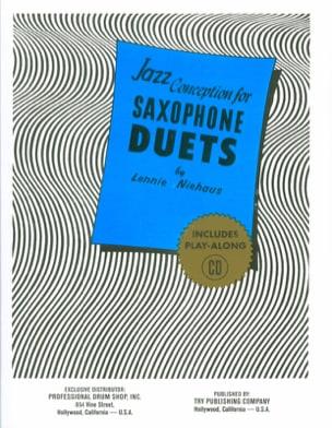 Jazz Conception For Saxophone Duets Lennie Niehaus laflutedepan