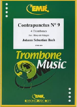 Contrapunctus N° 9 - BACH - Partition - Trombone - laflutedepan.com