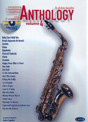 Anthology Volume 4 Partition Saxophone - laflutedepan