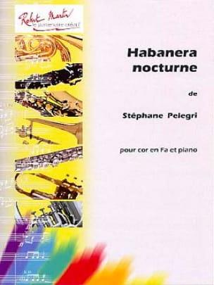 Habanera Nocturne - Stéphane Pelegri - Partition - laflutedepan.com