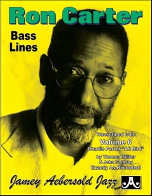 Bass Lines Charlie Parker - Aebersold 6 Ron Carter laflutedepan