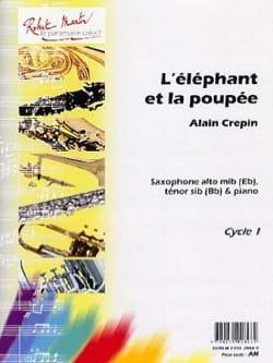 L'éléphant et la poupée Alain Crepin Partition laflutedepan