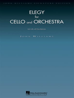 Elegy for Cello and Orchestra John Williams Partition laflutedepan
