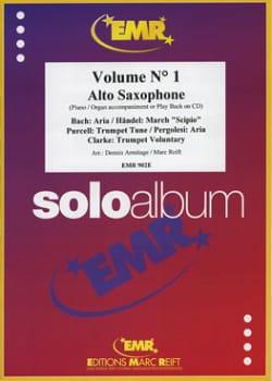 Solo Album N° 1 - Partition - Saxophone - laflutedepan.com