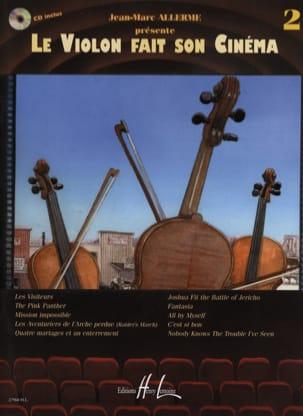 Le violon fait son cinéma volume 2 Partition Violon - laflutedepan