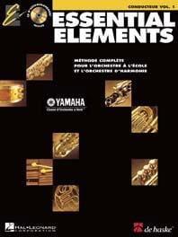 Essential Elements. Score Volume 1 Partition laflutedepan