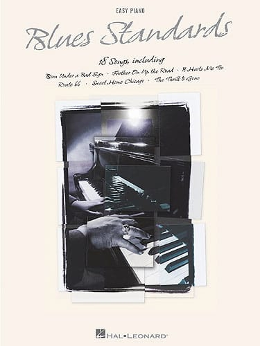 Blues Standards - Easy Piano - Partition - Jazz - laflutedepan.com