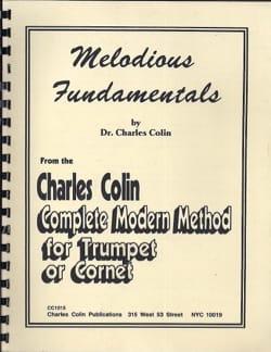 Melodius Fundamentals Charles Colin Partition Trombone - laflutedepan