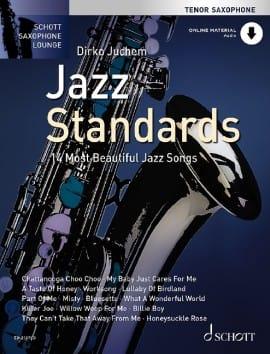Jazz Standards - 14 Most Beautiful Jazz Songs Partition laflutedepan