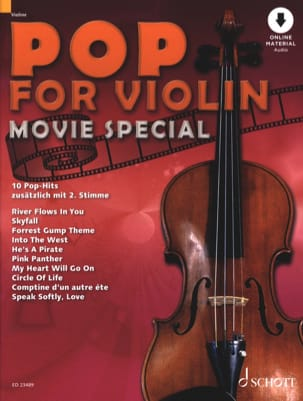 Pop for Violin - Movie Special Partition Violon - laflutedepan