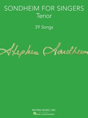 Sondheim for Singers - Tenor Vocal Collection laflutedepan