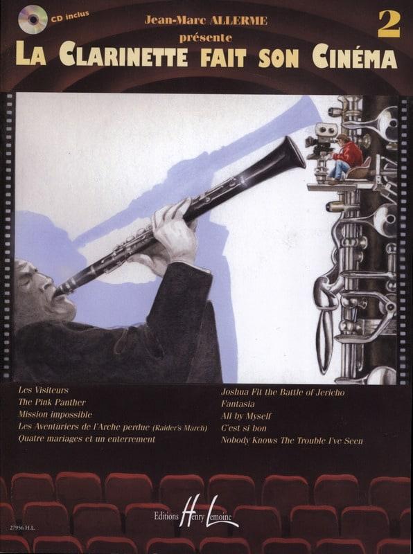 La Clarinette fait son cinéma volume 2 - laflutedepan.com