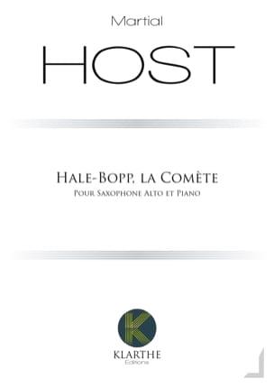 Hale-Bopp, la Comète - Martial Host - Partition - laflutedepan.com