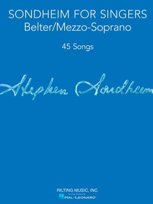 Sondheim for Singers - Belter / Mezzo-Soprano Vocal Collection laflutedepan