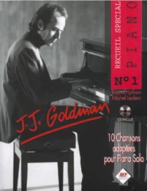 Recueil Spécial Piano N° 1 - Jean-Jacques Goldman - laflutedepan.com