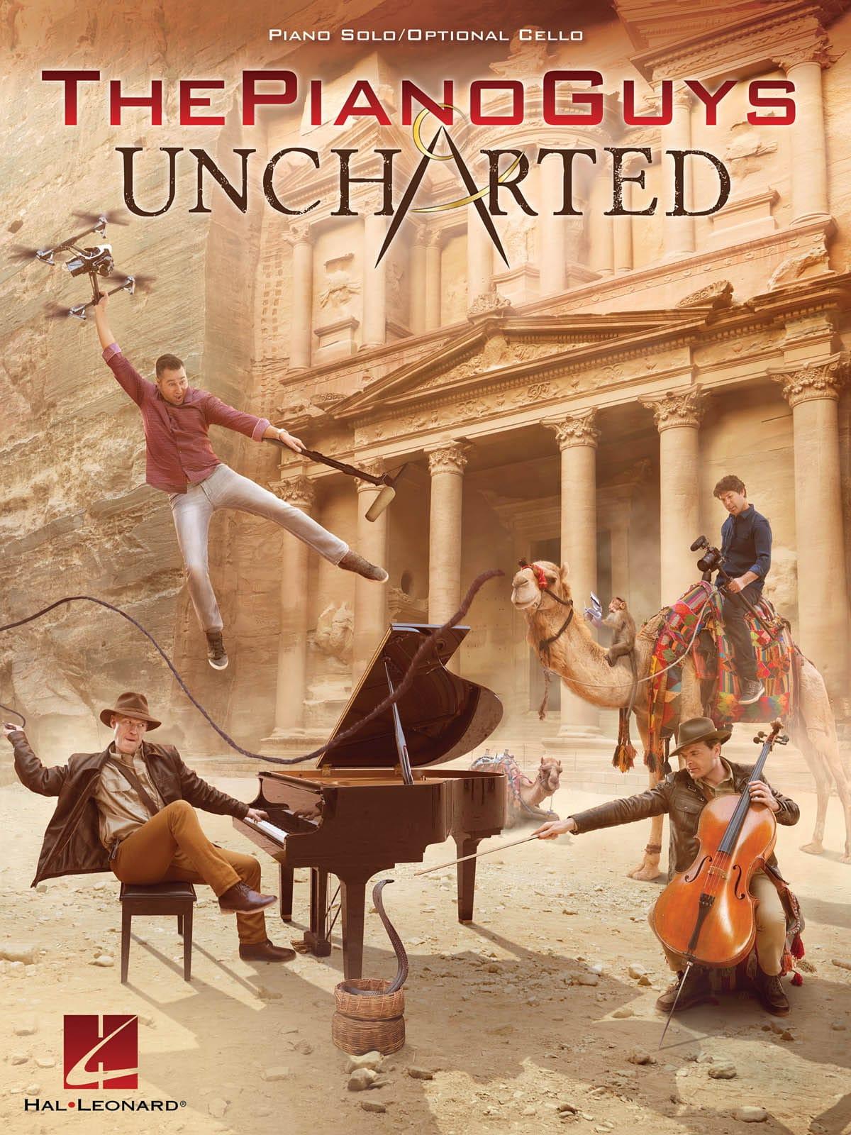 The Piano Guys - Uncharted, Version Violoncelle et Piano - laflutedepan.com