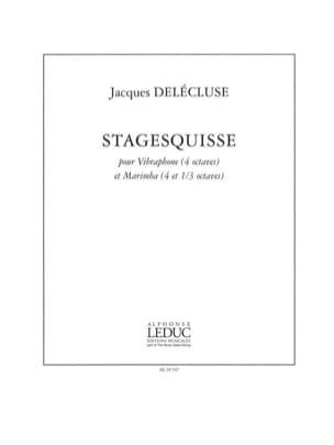 Stagesquisse Jacques Delécluse Partition laflutedepan