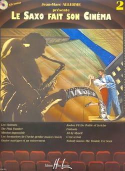 Le saxo fait son cinéma volume 2 Partition Saxophone - laflutedepan