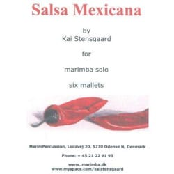 Salsa Mexicana Kai Stensgaard Partition Marimba - laflutedepan