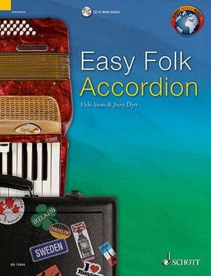 Easy Folk Accordion - 29 Traditional Pieces Traditionnel laflutedepan