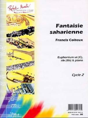 Fantaisie Saharienne - Francis Coiteux - Partition - laflutedepan.com