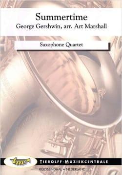 Summertime GERSHWIN Partition Saxophone - laflutedepan