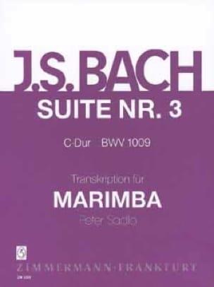 Suite N° 3 C-Dur BWV 1009 - BACH - Partition - laflutedepan.com