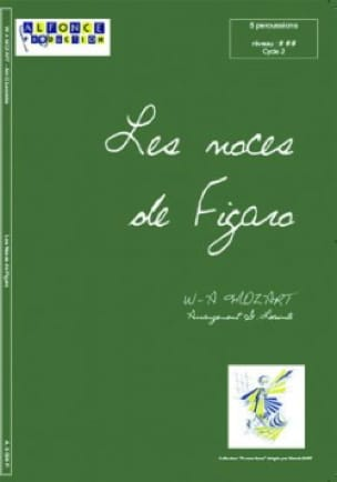 Les Noces de Figaro Ouverture K.492 - MOZART - laflutedepan.com