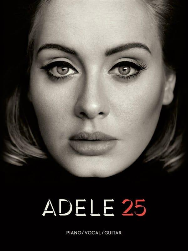 25 - Adele - Partition - Pop / Rock - laflutedepan.com