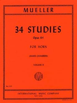 34 Studies Opus 64 Volume 2 Berhard Muller Partition laflutedepan