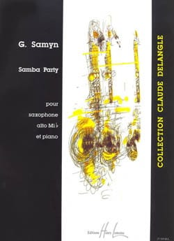 Samba Party Gino Samyn Partition Saxophone - laflutedepan
