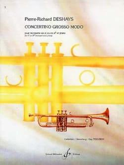 Concertino Grosso Modo Pierre-Richard Deshays Partition laflutedepan