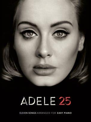 25 - Easy Piano - Adele - Partition - Pop / Rock - laflutedepan.com