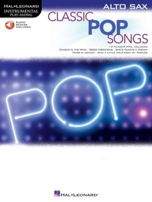 Classic Pop Songs Partition Saxophone - laflutedepan