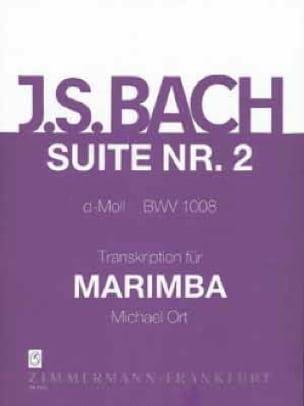 Suite N° 2 D-Moll BWV 1008 - BACH - Partition - laflutedepan.com