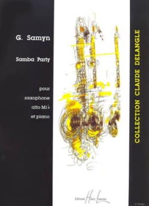 Samba Party - Gino Samyn - Partition - Saxophone - laflutedepan.com