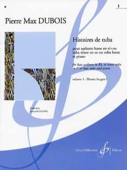 Histoires de Tuba - volume 1 Pierre-Max Dubois Partition laflutedepan