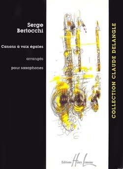 Serge Bertocchi - Equal Voice Cannons - Partition - di-arezzo.co.uk