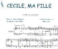 Claude Nougaro - Cecile, My Girl - Partition - di-arezzo.com