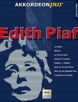 Akkordeon Pur - Edith Piaf Edith Piaf Partition laflutedepan