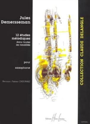12 Etudes Mélodiques - Jules Demersseman - laflutedepan.com
