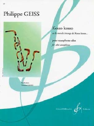 Kosso Kosso - Philippe Geiss - Partition - laflutedepan.com