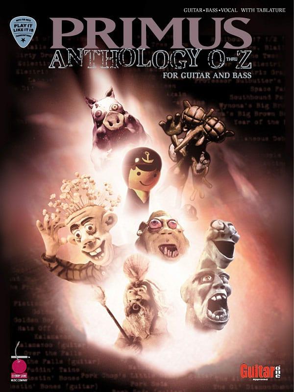 Primus Anthology - O thru Z - Primus - Partition - laflutedepan.com